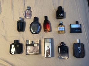 Colognes fragrances...perfumes lot 100ml bottles for Sale in Chula Vista, CA