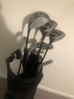 Golf clubs and bag-Open on Pricing for Sale in Tampa, FL