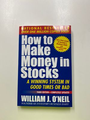 Book: How to Make Money in Stocks for Sale in Los Altos, CA