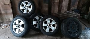 Volkswagen rims for sale with spare$ 150 or B.O for Sale in Hartford, CT
