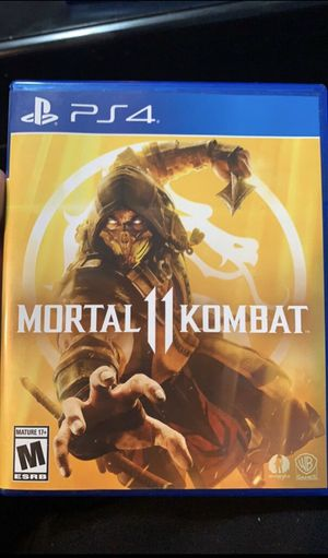 Mortal Kombat 11 PS4 for Sale in Indianapolis, IN