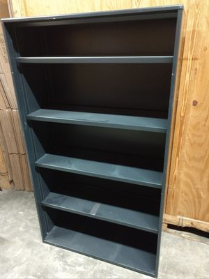 Steel bookcase for Sale in Durham, NC
