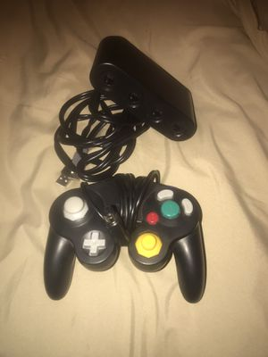 Nintendo switch game cube controller and adapter for Sale in Phoenix, AZ