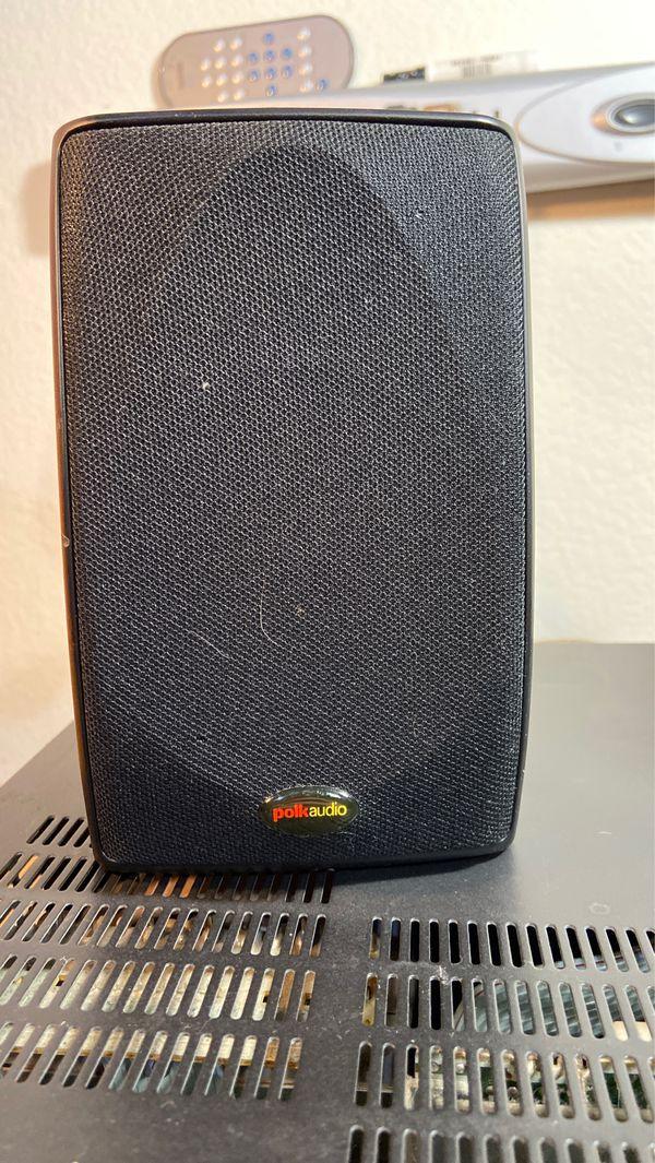 Optimus STAV-3690 Surround Sound Stereo Receiver - 2 Polk Audio Speakers