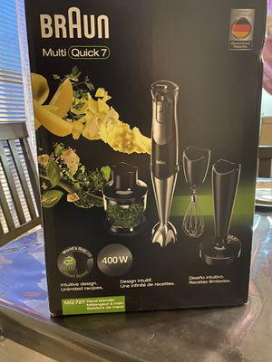 Hand Blender/ Braun Multi Quick 7 for Sale in Clermont, FL