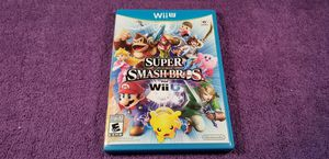 SUPER SMASH BROS WII U GAME COMPLETE for Sale in Missouri City, TX