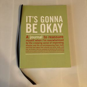 It's Gonna Be Okay Self Help Journal and Guide for Sale in Saline, MI