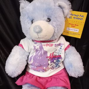 "Build a Bear Workshop Teddy Bear "" A Friend For All Seasons"" . Winter Bear 2007. Plush Stuffed Animal Toy. for Sale in Greeneville, TN"