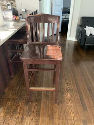 3 bar stools for $45 for Sale in Chicago, IL