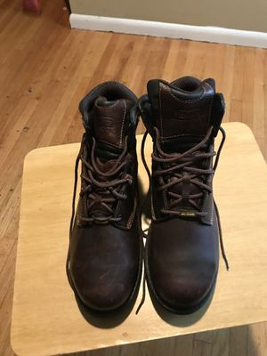 Timberland steel toe shoe size 12w for Sale in Bladensburg, MD