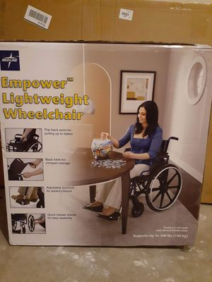 Medline empower lightweight wheelchair for Sale in Independence, MO