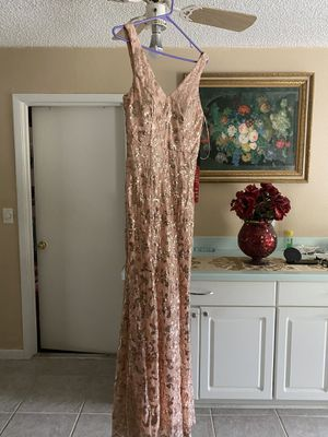 new prom dress tag on small medium large if you interested ask for price size for Sale in New Port Richey, FL