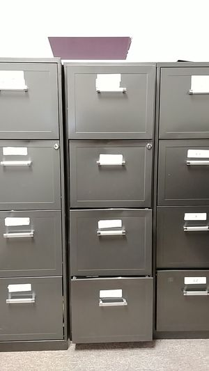 Grey Filing Cabinets for Sale in Austin, TX