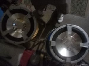 Dual 10in Subwoofers for Sale in Belleville, IL