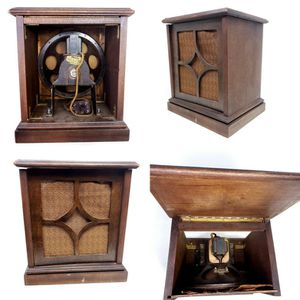 "*Untested *Vintage Philco Radio Model G Field Coil Speaker , 11"", Hi Boy Custom Wood Cabinet for Sale in Seattle, WA"