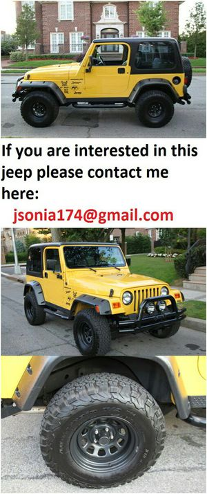💥2000 Jeep Wrangler SE 112K Miles.One Owner Clean Title/Carfax💥 for Sale in Atlanta, GA