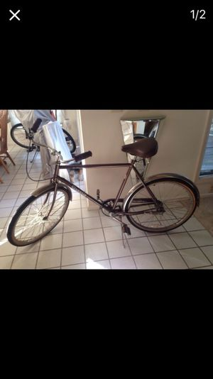 Brown townie bicycle for Sale in Caledonia, MI