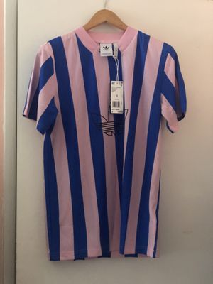 ADIDAS Originals Men Blue & Pink ES PLY Jersey Small Soccer NWT for Sale in Fullerton, CA