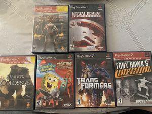 PS2 games for Sale in Orange Cove, CA
