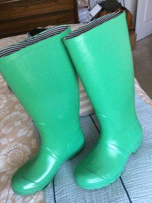 Target mint green rain boots for Sale in Hoffman Estates, IL