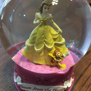 Disney Bell Music Snow Globe for Sale in Lockport, IL