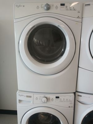 Whirpool wascher And electric drayer good condition 90 Warranty for Sale in Washington, DC