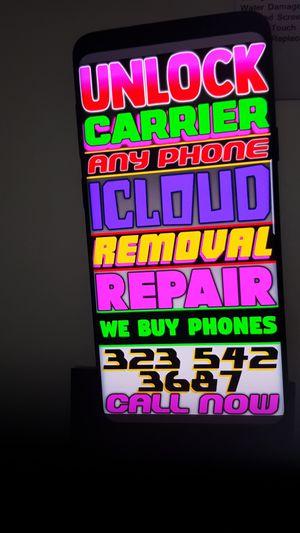 Samsung Galaxy Note 9 unlock for Sale in Los Angeles, CA