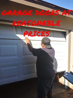 GARAGE DOOR SPRINGS/DOORS for Sale in Riverside, CA