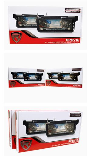 BRAND NEW IN BOX...Rockville RPSV12 HD Car Sun Visor Monitor for Sale in Winter Haven, FL