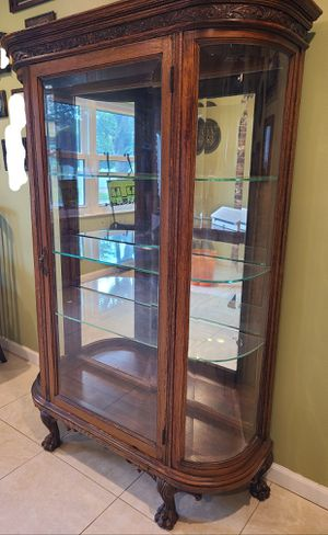 Antique China cabinet for Sale in Fort Lauderdale, FL