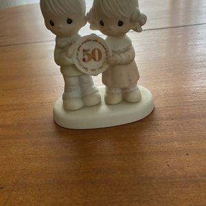 Precious Moments Figurine 50th Anniversary for Sale in Apple Valley, CA