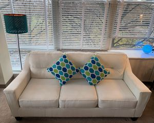 50% off On Ashley Forsan Nutella Couch! Plus couch cover included AMAZING DEAL for Sale in Chicago, IL