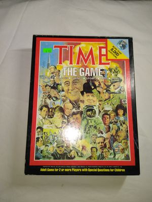 Time Board Game for Sale in Salt Lake City, UT
