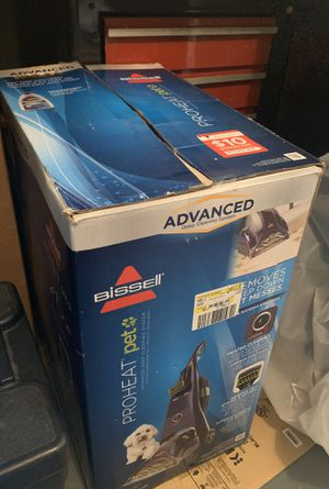 Bissel Preheat Pets Advanced Carpet Cleaner for Sale in Springfield, VA