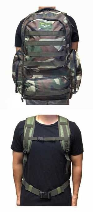 Brand NEW! Camouflage Large Backpack For Everyday Use/Outdoors/Hiking/Biking/Camping/Fishing/Sports/Work/Gym for Sale in Carson, CA