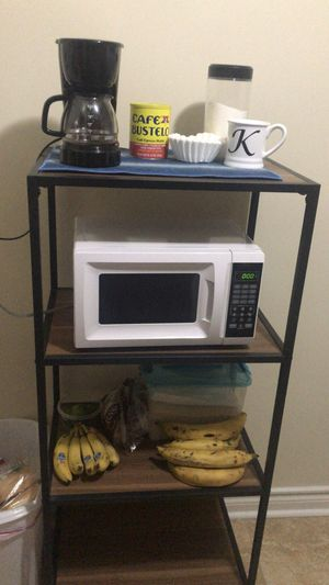 Stand with microwave and coffeemaker for Sale in Mechanicsburg, PA