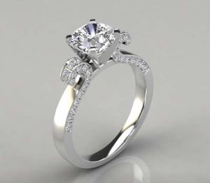 Luxury brand design Princess exquisite 925 Sterling Silver Ring natural gem sapphire diamond ring Wedding engagement anniversary Gift Ring Size 7 for Sale in Moreno Valley, CA