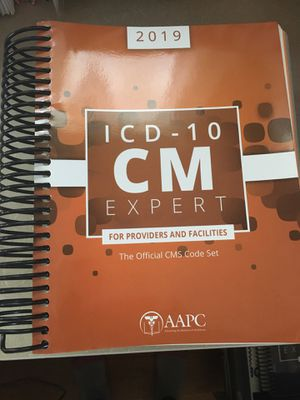 ICD 10 Expert Diagnosis Coding Book for Sale in New Britain, CT