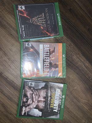 Xbox One COD WWII/Battlefield 1/ Morrowind for Sale in Callahan, FL