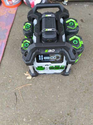 Ego 56V 3000W Battery powered generator for Sale in Grants Pass, OR