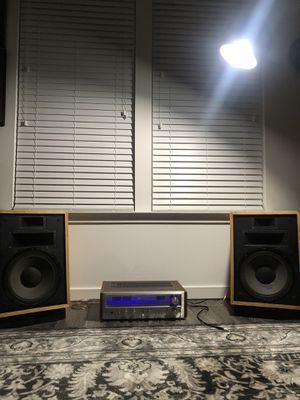 Pioneer SX-780 and Klipsch Heresy II for Sale in Maitland, FL