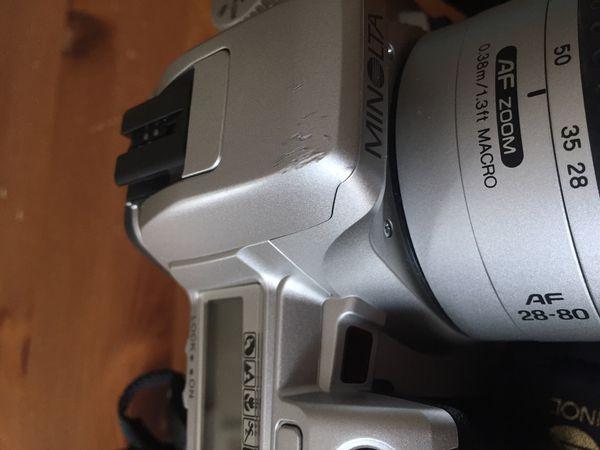 Film Camera Minolta Stsi Maxxum