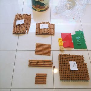 Vintage Lincoln Logs Bulk Lot Of 342 Pieces for Sale in Hollywood, FL
