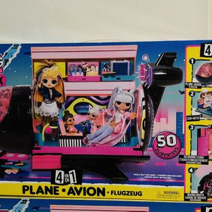 LOL Omg Remix Airplane -50 Surprise for Sale in Bakersfield, CA
