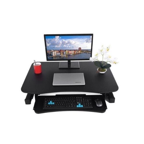 Standing Desk - (25) ApexDesk EDR-3612-BLACK ZT Series