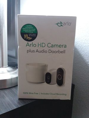 Arlo camera & doorbell for Sale in Kennewick, WA