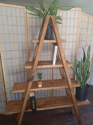 A-Frame Ladder Shelf for Sale in Tampa, FL