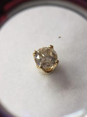 14 kt Gold Diamond Stud Earrings for Sale in Seymour, CT
