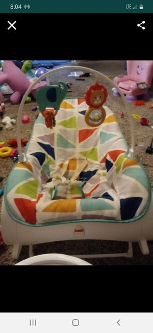 Toddler rocker and newborn vibration chair for Sale in Biloxi, MS