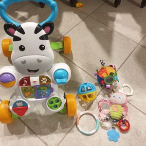 Baby Walker and toys for Sale in Sun City Center, FL